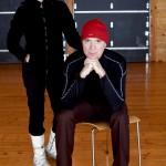 David Byrne and Cindy Sherman